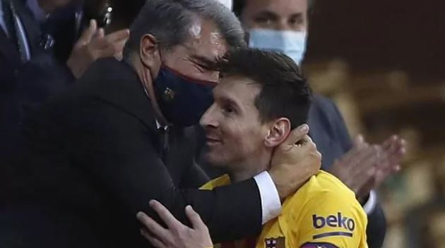 Laporta: I'm convinced that Messi wants to stay at Barcelona - Bóng Đá
