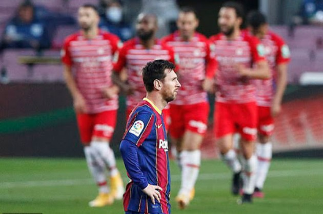 Lionel Messi is the first player to score a direct free kick goal & miss a penalty shot both in a single #LaLiga away - Bóng Đá